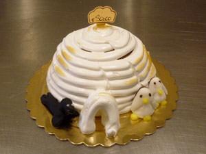 torta-gelato-igloo-con-pinguini-e-foca