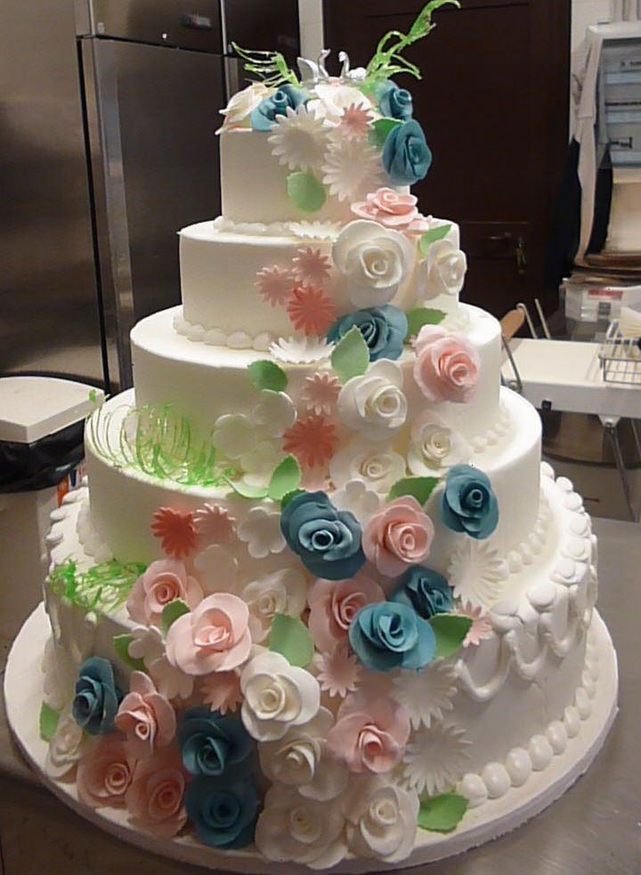 Torte nuziali di panna migliore collezione inspiration for Piani di coperta e idee